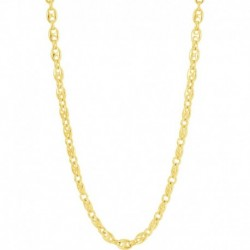 COLLIER PLAQUE OR